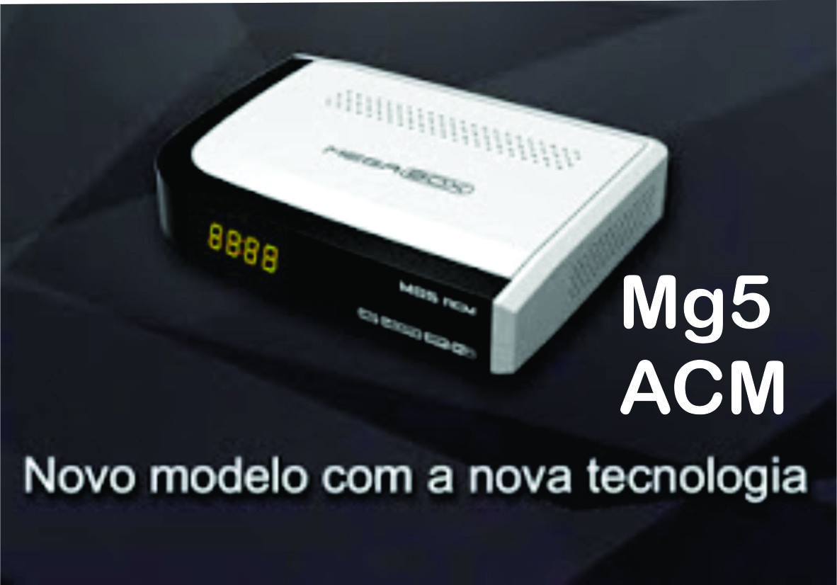 Novo MegaBox MG5 ACM - Full HD Iks sks iptv