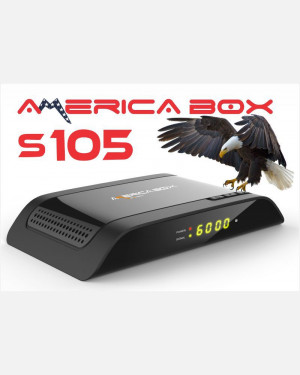 RECEPTOR AMERICA BOX S105 - ACM WIFI IPTV FULL HD