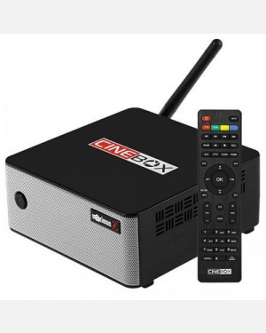 Receptor Cinebox Maximus Z - Receptor Full HD + 3 Tunners - Lançamento 2019