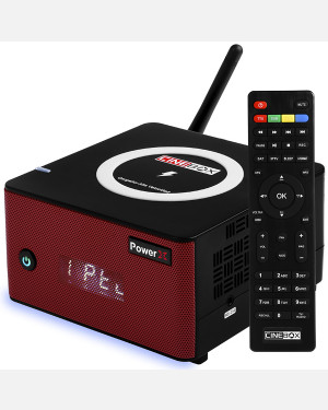 Receptor Cinebox Power X - Receptor Full HD + Carregador Wi-Fi