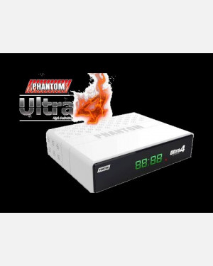 RECEPTOR PHANTOM ULTRA 4 4K/ USB/ HDMI/ WIFI/ H.265