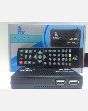 Receptor ITV OPEN CS HDTV -  WIFI