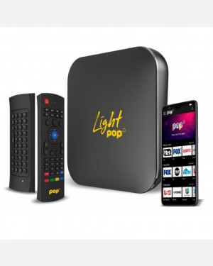 Receptor Light Pop TV - Via Internet 4K Wifi Android