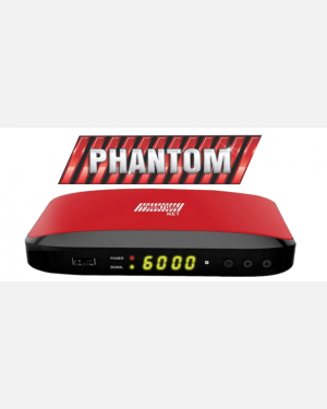 RECEPTOR PHANTOM NET CABO - CS H265 FULL HD