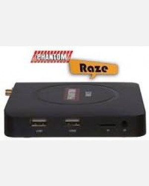 RECEPTOR PHANTOM RAZE HD - WIFI IPTV ANDROID