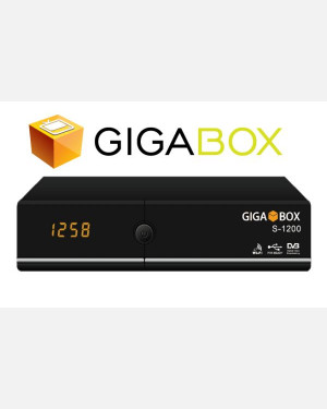 RECEPTOR GIGABOX S 1200 -  ACM IPTV WIFI FULL HD