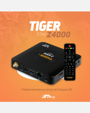 RECEPTOR TIGER Z4000 OTT TV BOX AMLOGIC S805 CPU 4.0 BLUETOOTH H.265 ANDROID